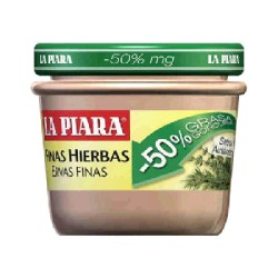 PATE -50% MG F. HIERB 12/100g LA PIARA