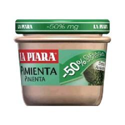 PATE -50% MG PIMIENTA 12/100g LA PIARA