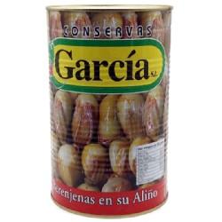 BERENJENA ALIÑADA 3/5Kg GARCIA