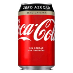 COCA-COLA ZERO ZERO 24/33cL