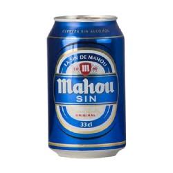 CERVEZA MAHOU SIN ALCOHOL 24/33cL