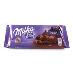 MILKA TRIPLE CHOCOLATE 20/90g