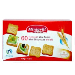 MINIBISCOTTE NORMAL 18/120g DIATOSTA