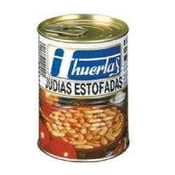 JUDIAS ESTOFADAS 12/500g HUERTAS