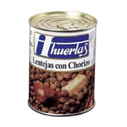 LENTEJA CHORIZO 12/500g HUERTAS