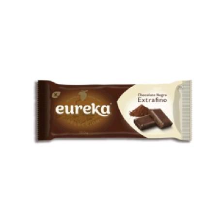 CHOCOLATE EUREKA NEGRO EXTRAFINO 15/150g