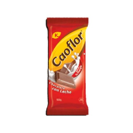 CHOCOLATE CAOFLOR LECHE 15/100g