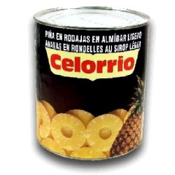PIÑA ALMIBAR RODAJAS 6/3KG CELORRIO