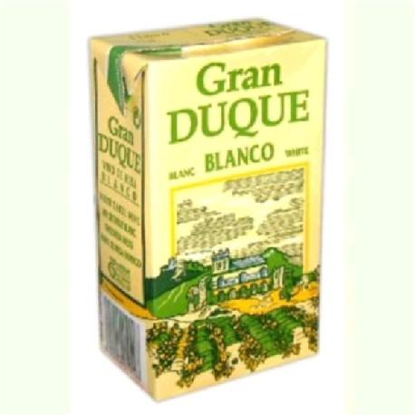 VINO BLANCO BRIK 12/1L GRAN DUQUE