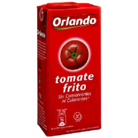 TOMATE FRITO BRIK 12/780g ORLANDO