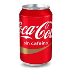COCA-COLA SIN CAFEINA 24/33cL