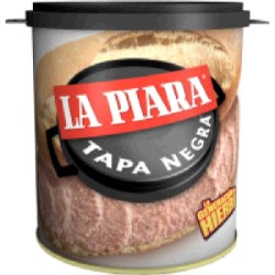 PATE BT TAPA NEGRA 6/800g LA PIARA