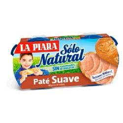 PATE SUAVE NATURAL 12/P-2 LA PIARA