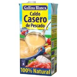 CALDO LIQ CASERO DE PESCADO 12/1L G.BLANCA
