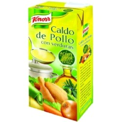 SOPA VERDURAS CON POLLO 6/500g KNORR