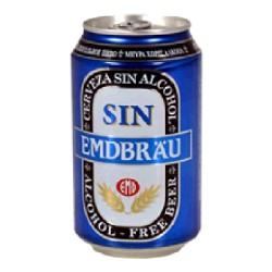 CERVEZA SIN ALCOHOL 24/33cl EMDBRAU